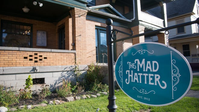The Mad Hatter's new home is at 176 S. Goodman St., near Parkleigh.