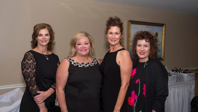 Junior Achievement - Maria LaDouceur, April Martin, Susie Lewis and Anna Weaver.