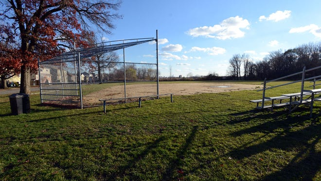 The youth baseball/softball field on Mehrhof Road in Little Ferry will be named in honor of Shannon Forde, Little Ferry resident and long time Mets PR employee who passed away from cancer this year. Major League Baseball is holding a charity auction to help renovate the field.  Renovations to the field will include dugouts with protective fencing and benches, perimeter fencing, bleachers, backstop, and scoreboard and field signs. In Little Ferry, NJ. December 05, 2016.