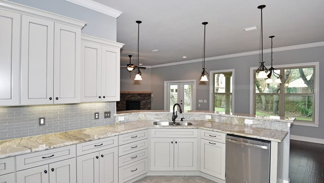 356 Fairpoint Drive, the open kitchen.