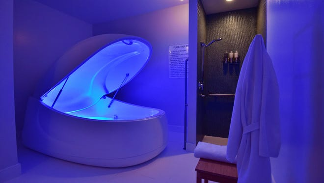 Float therapy has been around for over 60 years, but is seeing a resurgence in popularity.