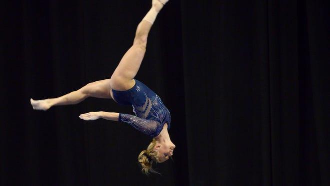Michigan gymnast Nicole Artz