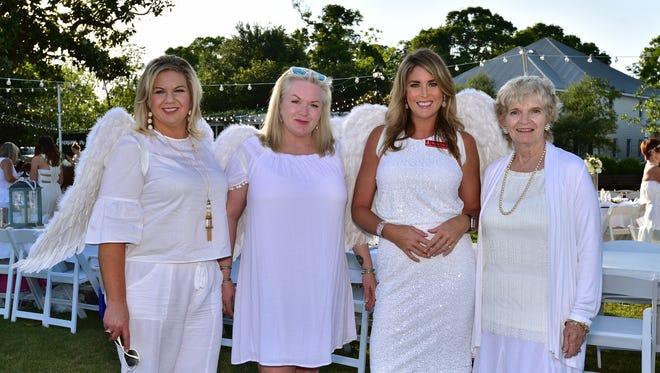 Scarlett Henson, Brenda MAder, Mary Taylor and Theresa Cserep