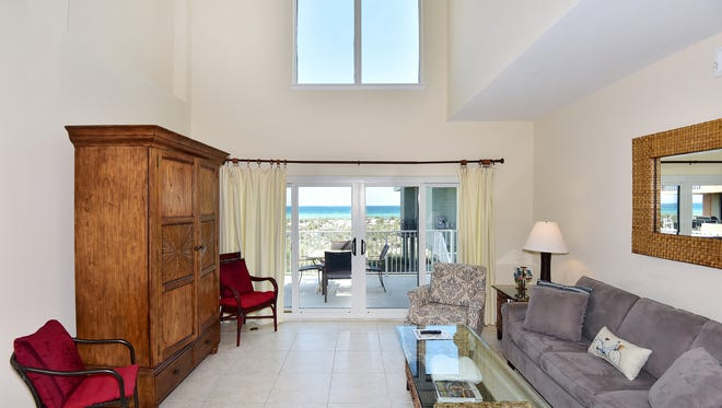 18 Port Side Villas, the open living area with a view.
