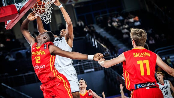 Auburn sophomore center Austin Wiley averaged a double-double as he captained the Team USA Under-19 team to a bronze medal in the 2017 FIBA U19 World Cup.