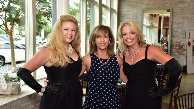 Donna Ward, Cathy Pope and Shelley Black