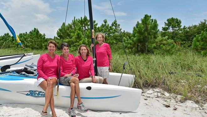 Linda Thompson, Laura Reagan, LeAyn Dunbar and Anne Geisel.