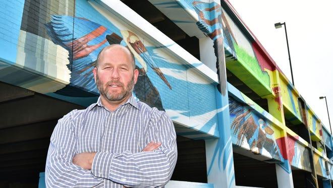 David Bear, founder of Foo Foo Fest.