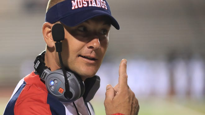 Tulare Western head coach Ryan Rocha and the Mustangs are aiming to win the football program's first section title.