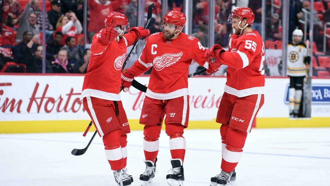 Detroit Red Wings forward Tomas Tatar has 10 goals, but as teammates reveal, he could resolve to do better (off the ice).
