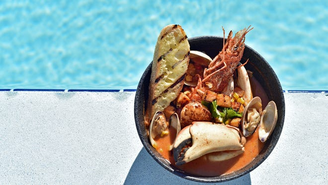 Caribbean Seafood Chowder from Margaritaville Beach Hotel
