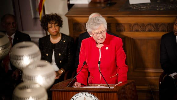 Governor Kay Ivey gives the Alabama State of the State