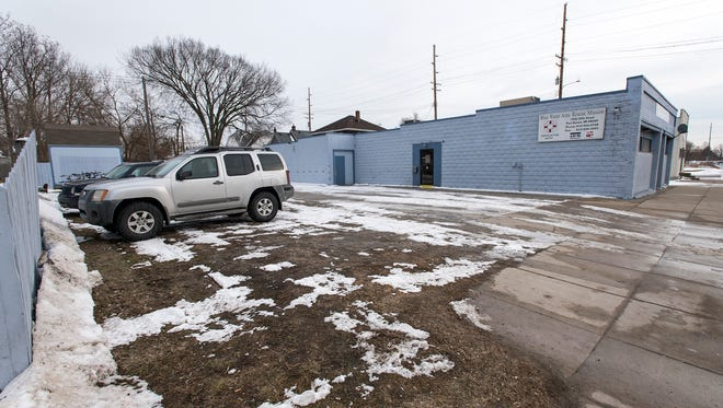 As part of its proposed expansion, the Blue Water Area Rescue Mission plans to expand the building into the parking lot. The Blue Water Area Rescue Mission was certified to run its peer recovery program in 2017, and this month, asked the city for a cut of the federal community development block grant dollars it gets to help expand.