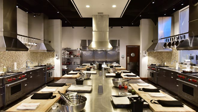 The Wind Creek kitchen for hand-on cooking classes.