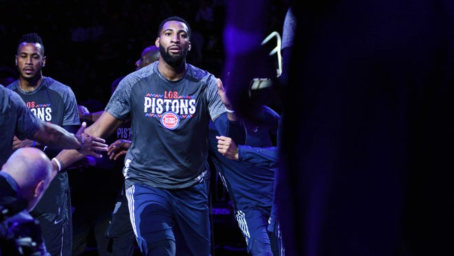 Andre Drummond is averaging 14.9 points and 15.8 rebounds, to go with 1.6 steals and 1.6 blocks, in his age 24 season.
