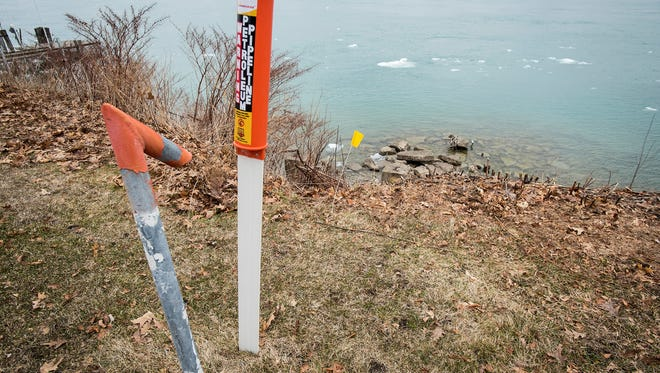 Enbridge, the company that owns and operates the controversial Line 5 petroleum pipeline, is working on getting the permits it needs to replace the portion of the pipeline that runs under the St. Clair River from Marysville to Sarnia.