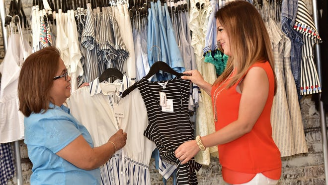 Shopping at Indigeaux is a fabulous mother and daughter experience.