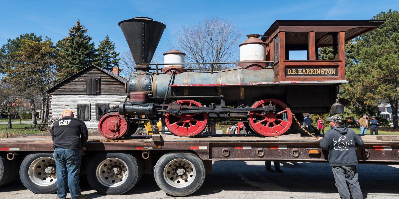 Port Huron Museum will put 140-year-old steam locomotive
