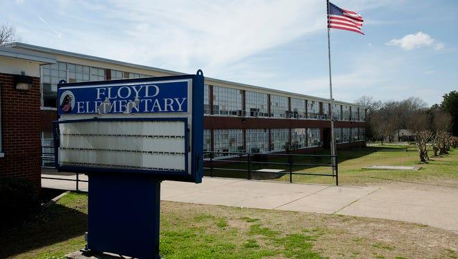 Floyd Elementary School building on Monday, Feb. 19, 2018, in Montgomery, Ala.