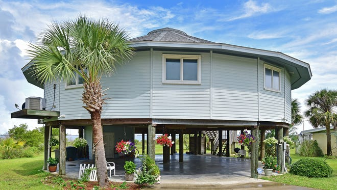 803 Rio Vista Drive, the home is located directly on Santa Rosa Sound.