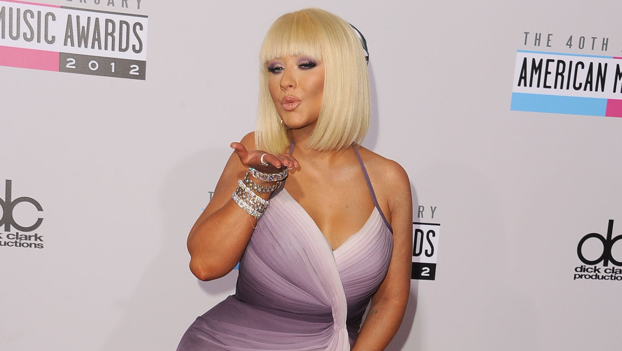 Christina Aguilera then: Aguilera, 32, popped her old skinny self out of the genie bottle, debuting a whittled-down shape in a slinky, pinky dress late last month ...