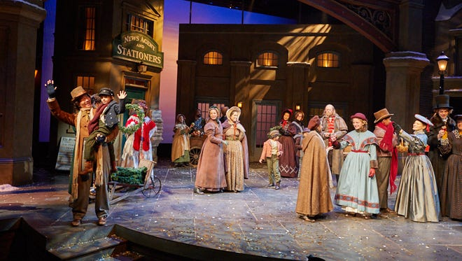The cast of 'A Christmas Carol' at Actors Theatre of Louisville.