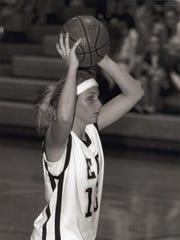 Madison Conradis of Melbourne, playing small forward