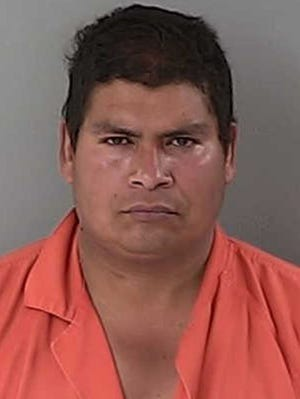 Oscar-Ayala-Arizmendi, 36, of Buhl, Idaho, is accused of keeping a 27-year-old woman for 18 months as a sex slave.