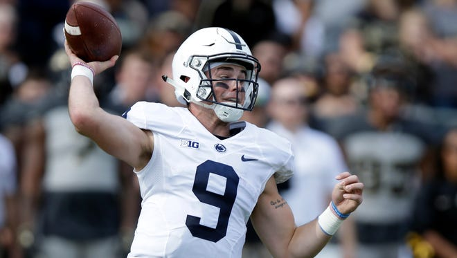 Quarterback Trace McSorley has made big strides leading Penn State's offense. But a more steady passing game may be needed for success Saturday vs. Iowa.