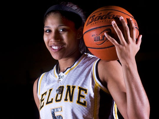 Sierra Moore left Delone Catholic with her school's