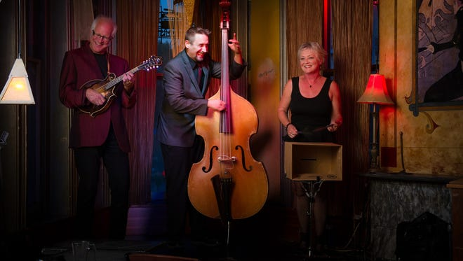 Gypsy jazz band Harmonious Wail plays Feb. 28 for the winter dinner concert series at White Gull Inn.