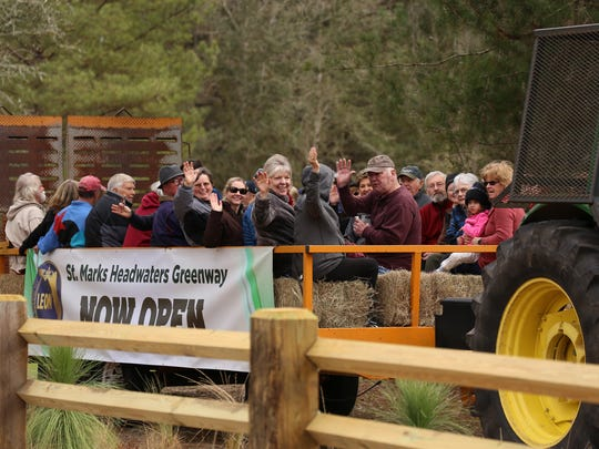 The opening of the St. Marks Headwaters Greenway.