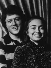 Bill Clinton and Hillary Rodham in the mid-1970s.