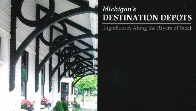 """Ron Campbell and Jackie Hoist will explore Michigan's classical rail depots featured in their book """"Michigan's Destination Depots"""" at the next OCPHS Small Talk presentation on Sunday, Nov. 6."""
