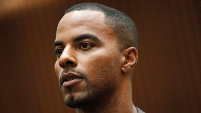Former NFL safety Darren Sharper during an appearance in Los Angeles Superior Court last year.