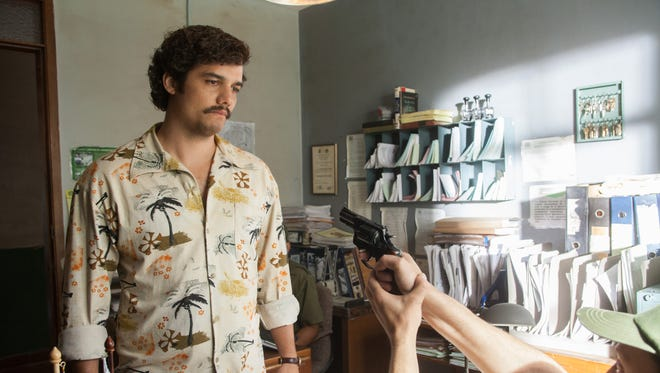 Wagner Moura plays Pablo Escobar in Netflix's 'Narcos.'