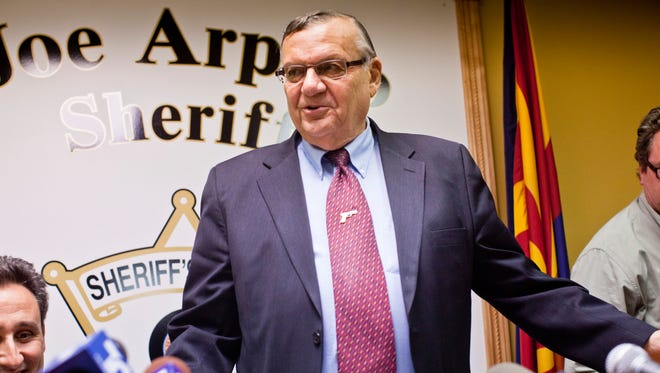 Sheriff Joe Arpaio, who will speak to just about any group at just about any time.