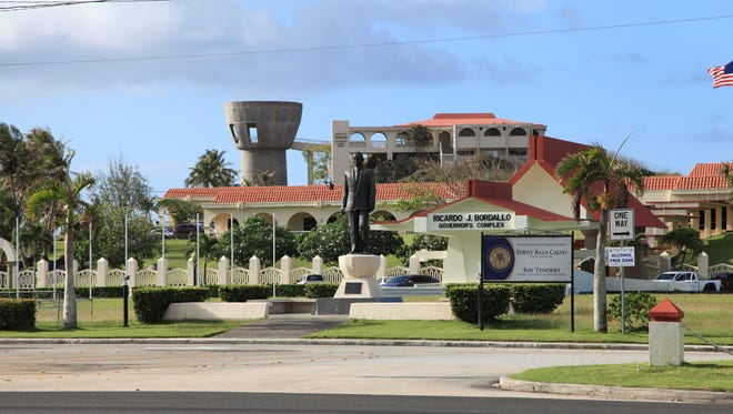 The Governor Ricardo J. Bordallo Complex at Adelup Point.