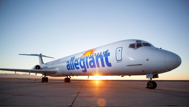 Discount carrier Allegiant Air's growth has helped lower average ticket prices at CVG.