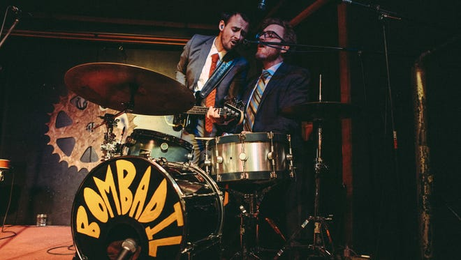 Original Bombadil members Daniel Michalak and James Phillips are once more part of a quartet.