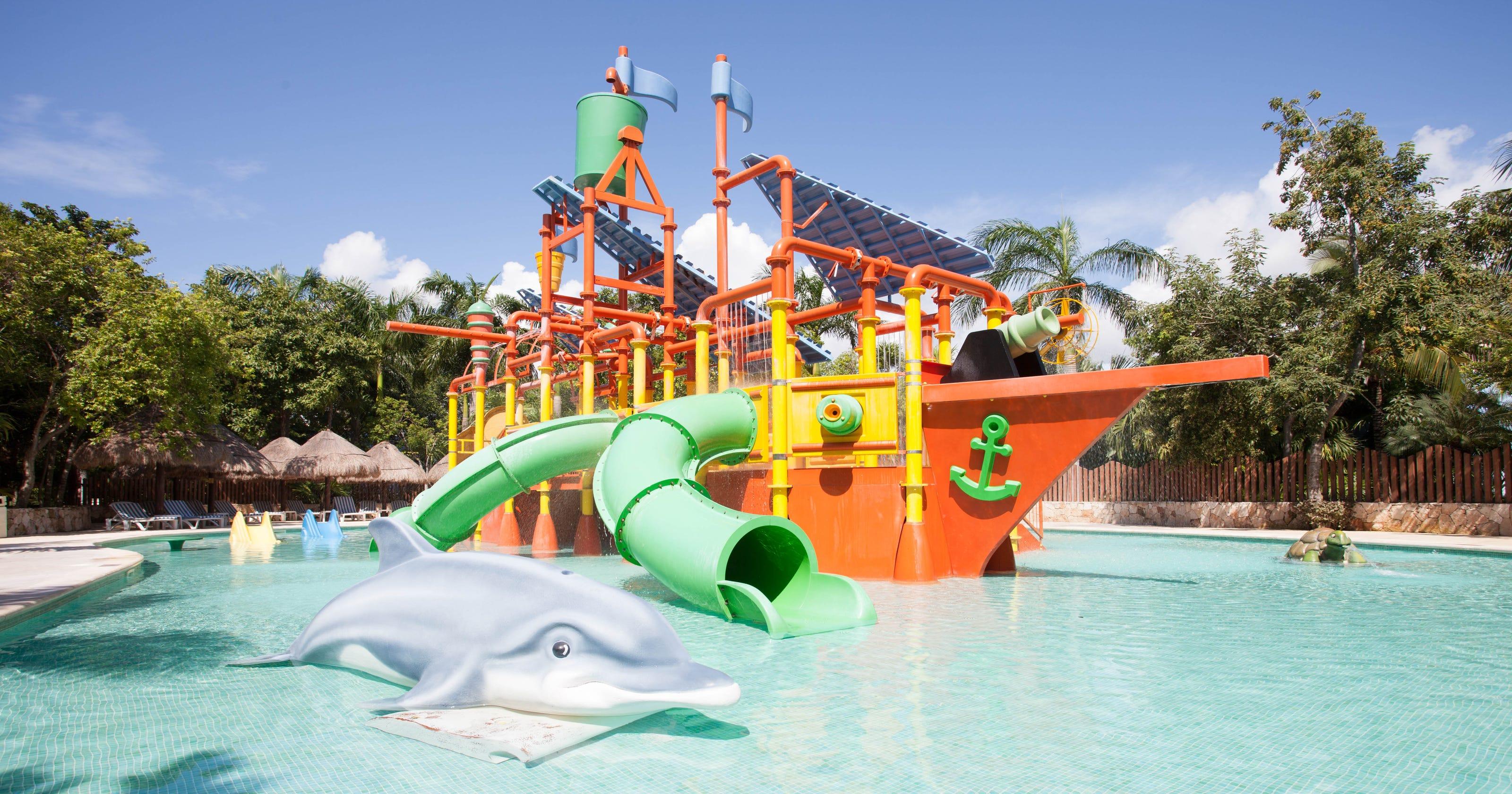 Caribbean resort water parks