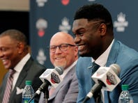 Grateful Pelicans welcome Zion Williamson to New Orleans