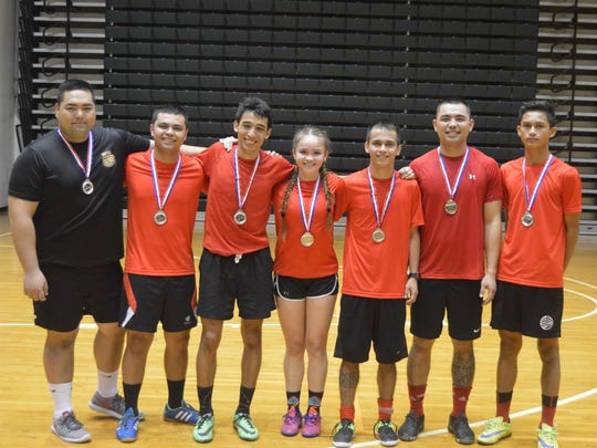 Goal Getterz finished second in the First Annual Co-Ed