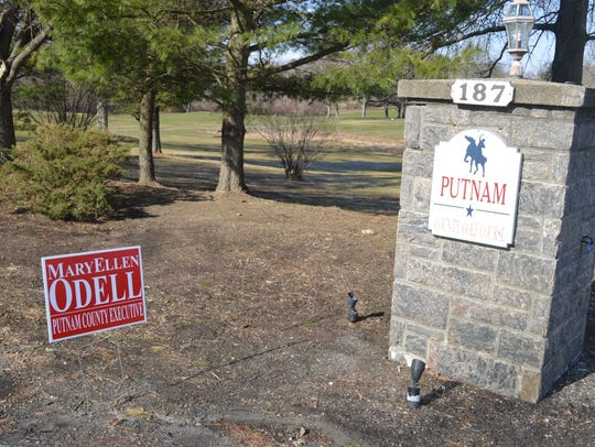 Odell for county executive signs stood for three days