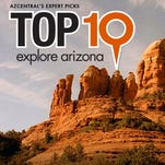 Travel app: Top 10 Explore Arizona