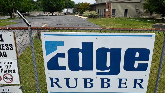 Edge Rubber,  at 811 Progress Ave., Chambersburg, reopened this week.