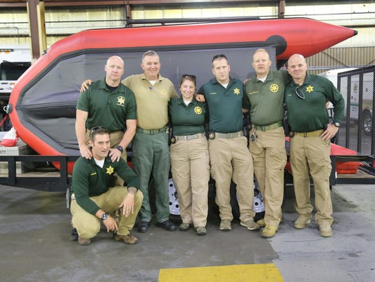 Employees from the Williamson County Sheriff's office