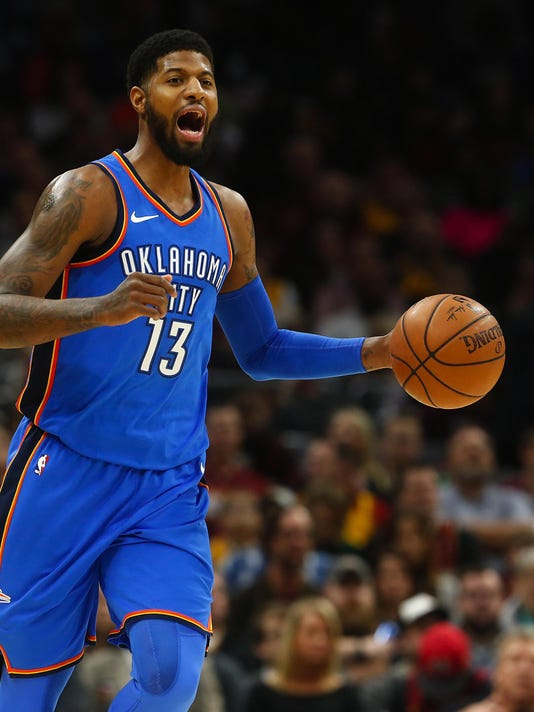 Paul George tells Thunder he'll opt out of contract to become a free agent