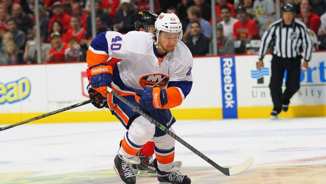 New York Islanders right wing Michael Grabner has a phone hearing with the NHL on Monday.
