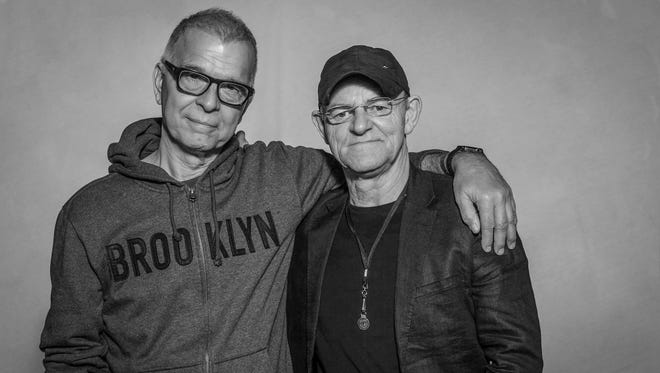 Tony Visconti (left) and Woody Woodmansey of Holy Holy, playing New Brunswick's State Theatre on April 6.